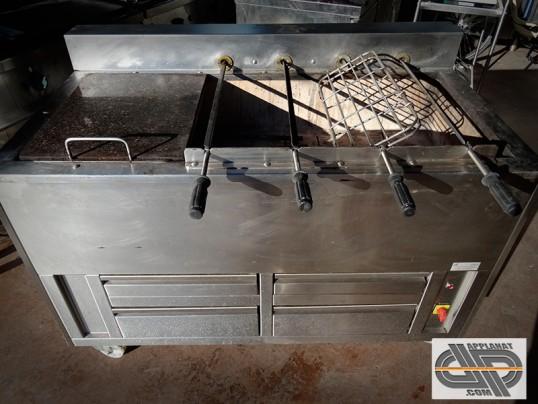 churrasqueria barbecue au charbon de bois portugais j rodrigues occasion vendu. Black Bedroom Furniture Sets. Home Design Ideas