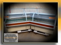 Vitrine d'angle 3m00 - ISOTECH - JORDAO - Super Lider