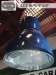 Luminaire suspension style industriel 70w