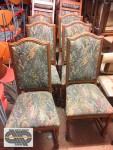 Lot de 26 chaises florale type old school